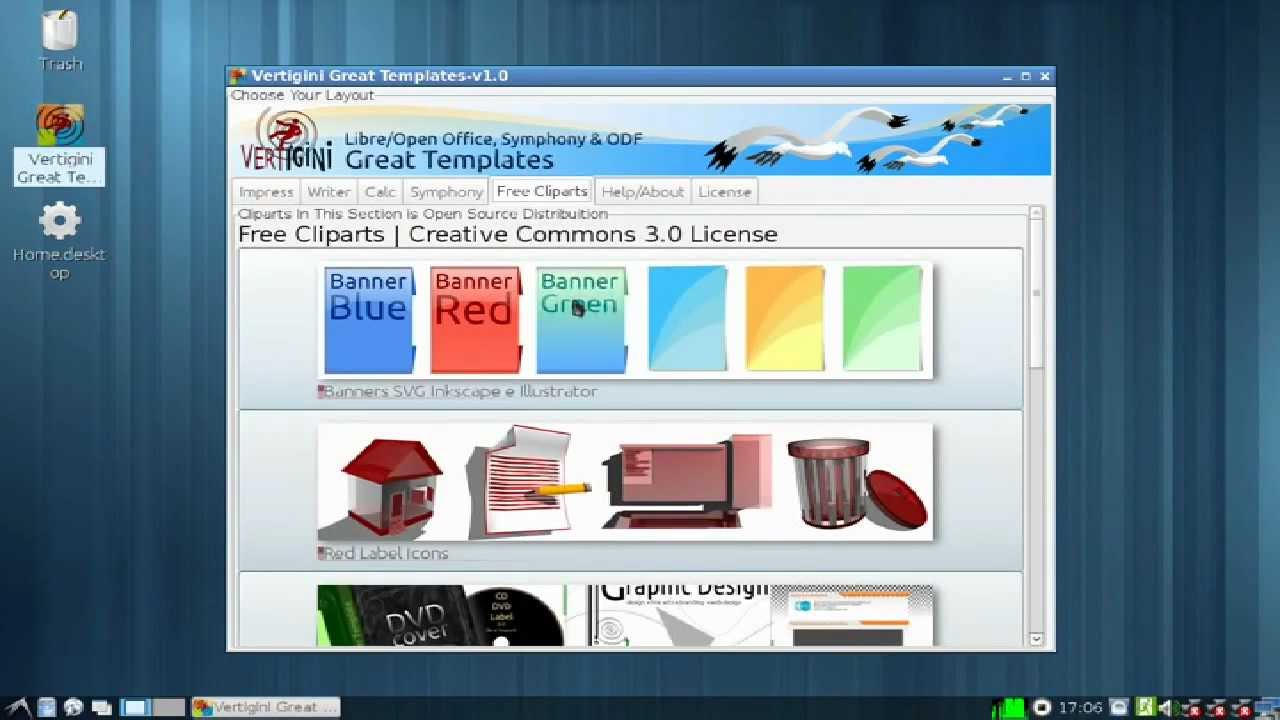 libreoffice openoffice and symphony templates youtube