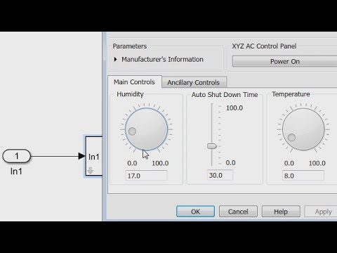 Creating a Mask: Parameters and Dialog Pane - Simulink Video