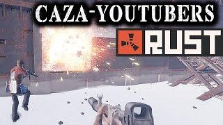 RUST #50 - Salseo contra los CAZA-YOUTUBERS | Gameplay Español