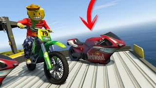 SE ME HA ROTO LA MOTO!! - GTA V ONLINE
