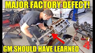 Fixing THE WORST LS Engine Factory Defect Ever & Adding 100 Horsepower In The Process! GM Failed US!
