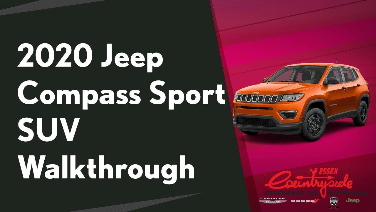 2020 Jeep Compass Sport Review | Interior & Specs | Rafih Auto Group
