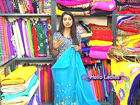 Different Varieties of Fabric and Laces for Sarees & Blouses