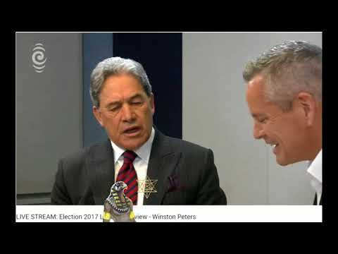 Short Clip from Guyon Espiners interview of Winston Peters