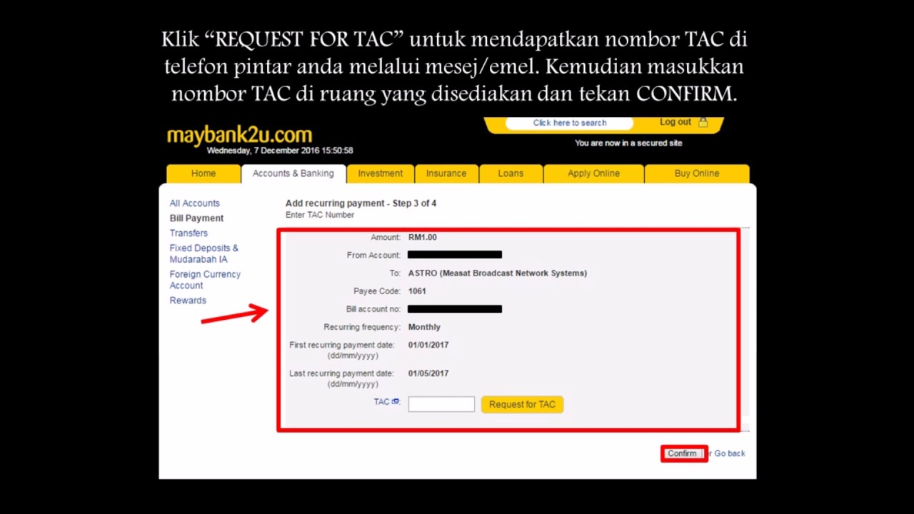 HOW TO PAY INDAH WATER BILL ONLINE