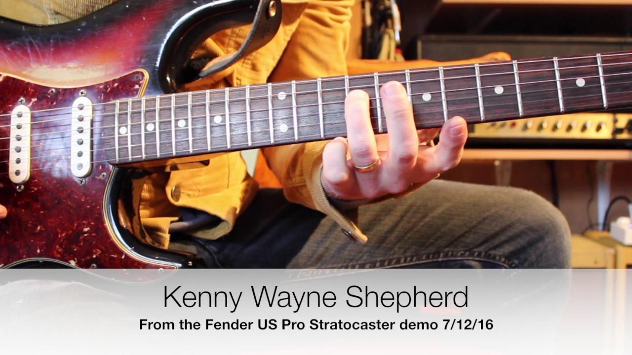 Checking out Kenny Wayne Shepherd