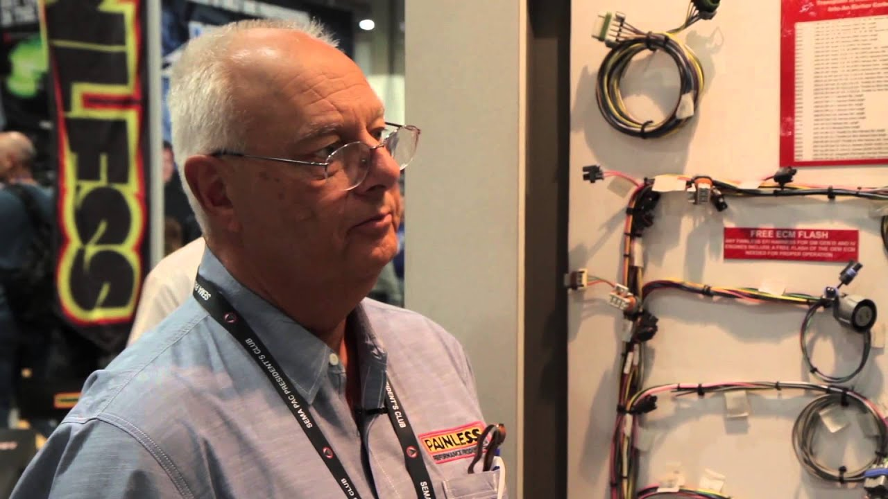 medium resolution of sema 2013 painless engine swap wiring