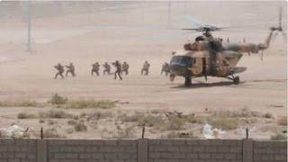 شاهد.. إنزال جوي للتحالف الدولي في دير الزور يسفر عن مقتل وأسر قادة بارزين لتنظيم الدولة
