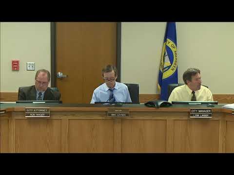 City Council Meeting - April 30, 2018