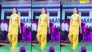(Long lachi)Sapna stage dance on song - -(long-- lachi)