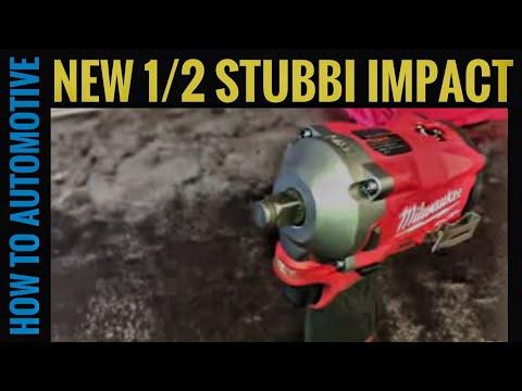 New Milwaukee Tools 1/2 M12 FUEL Stubby Impact
