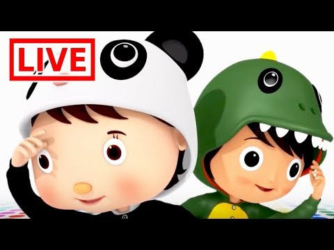 Little Baby Bum LIVE 🔴| The Number 3 Song | Numbers, Shapes + MORE Fun | Nursery Rhymes for Babies