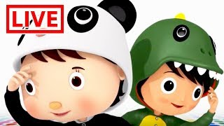 TRAIN SONG - Little Baby Bum Live 🔴| Shape Songs | Shapes, Colors + MORE | Nursery Rhymes for Babies