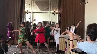 結婚式余興.2018.バレエダンサーが本気で踊ったバブリー&郷ひろみ