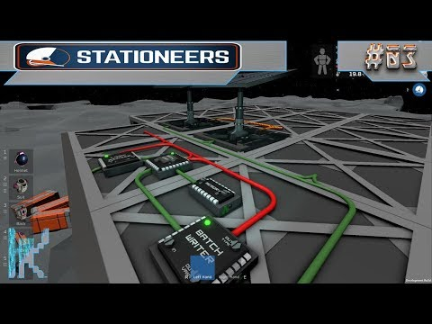 Let's Play Stationeers - E3: Setting Up Simple Automated Solar Panels!