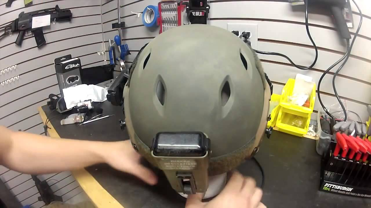 Airsoft helmets with dummy and working radiosets  Altyn helmet replica
