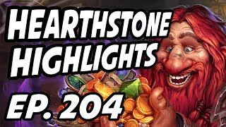 Hearthstone Daily Highlights | Ep. 204 | FunkyMonk27, DisguisedToastHS, Captainth, Neviilz, neon_lab