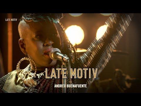 LATE MOTIV - Shirley Davis & The Silverbacks. 'Fire' | #LateMotiv365