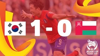 Korea Republic vs Oman: AFC Asian Cup Australia 2015 (Match 2)
