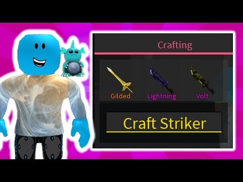 CRAFTING THE BRAND NEW STRIKER EXOTIC! (ROBLOX ASSASSIN UPDATE)