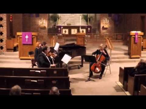 Clara Schumann Piano trio in G minor, op 17: Allegro moderato