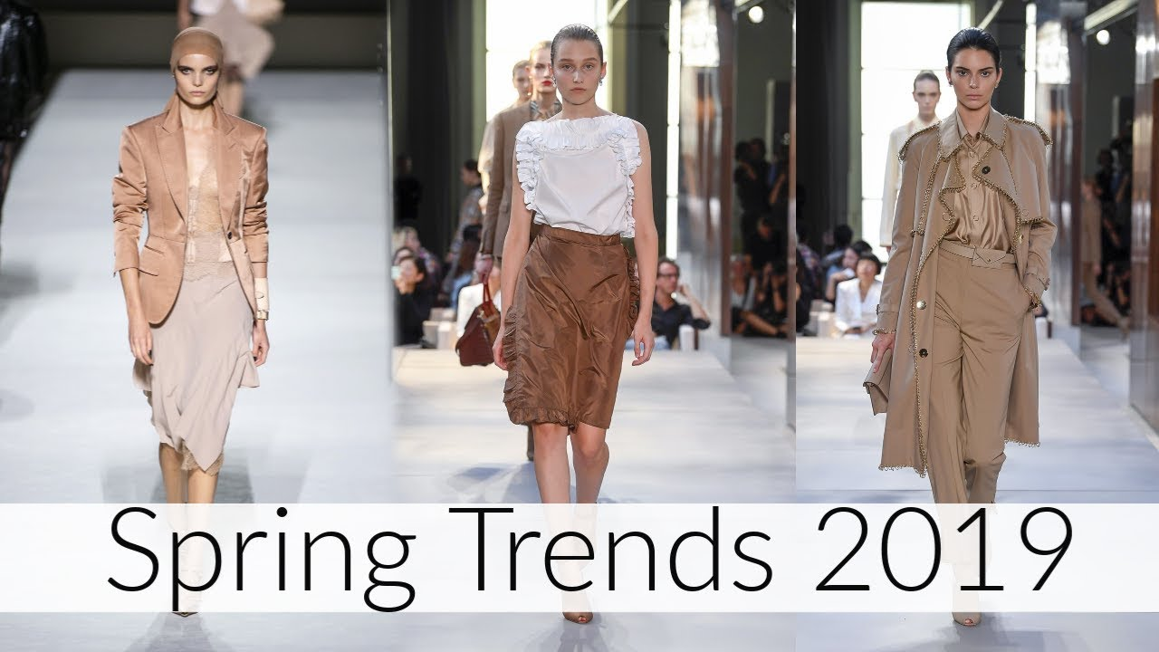 top 11 spring trends 2019  youtube