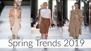 TOP 11 SPRING TRENDS 2019