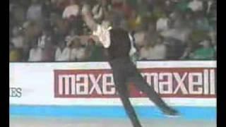 カート・ブラウニング 1991年 世界選手権 エキシ.flv