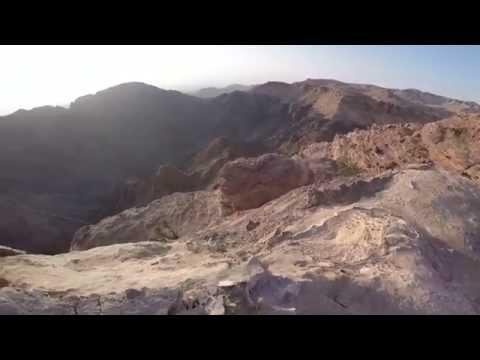 Wadi Araba Viewpoint at Petra, Jordan