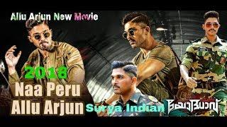 Allu Arjun new movie trailer 2018 Naa Peru Surya