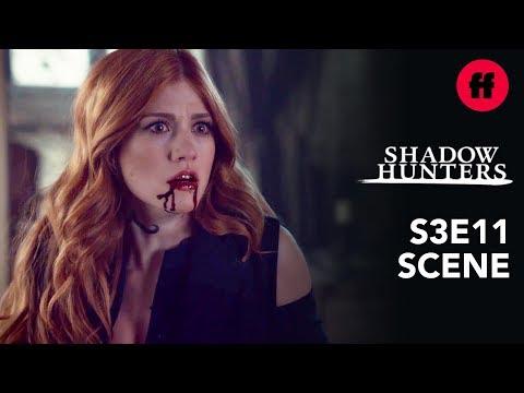 Shadowhunters Season 3, Episode 11 | Clary Attacks Jonathan | Freeform