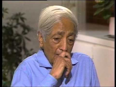 J. Krishnamurti - Ojai 1982 - Discussion with Scientists 2 - Psychological suffering