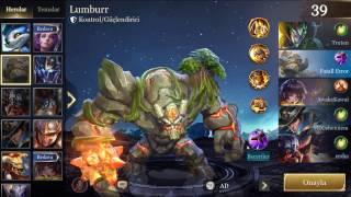 Strike of Kings - Lumbur - Detaylı Anlatım ve Tanıtım Oynayış