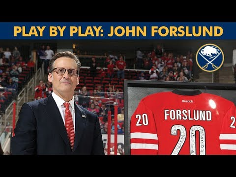 John Forslund | Play By Play Episode 1 | Buffalo Sabres - YouTube