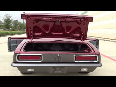 1967 Chevrolet Camaro Gateway Classic Cars #1000 Houston Showroom