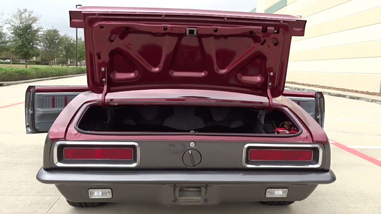 1967 Chevrolet Camaro Gateway Classic Cars 1000 Houston Showroom