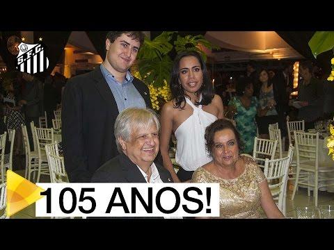 Santos FC celebra baile em comemoração a seus 105 anos