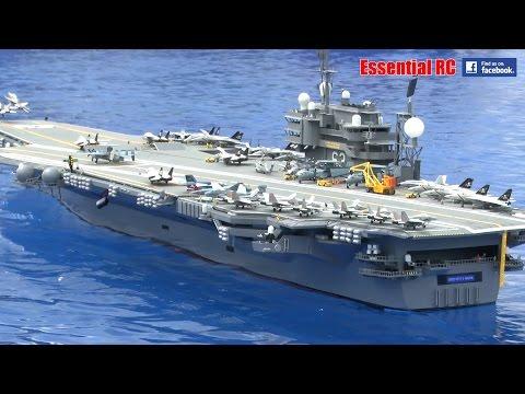 GIANT SCALE RC USS KITTY HAWK (CV-63) SUPER Aircraft Carrier