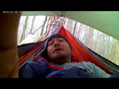 Hammocking at Jeff Busby park on the trace part one