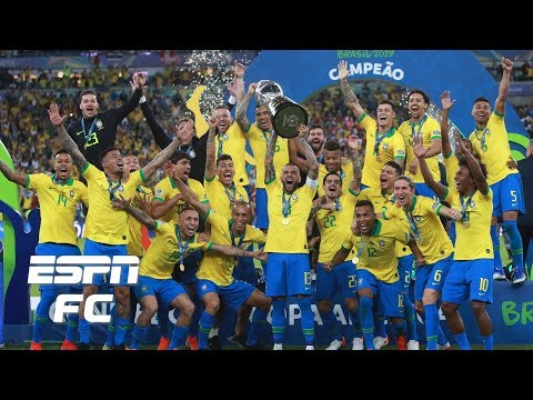 Brazil vs. Peru analysis: Seleção crowned champions despite Neymar's absence | Copa America