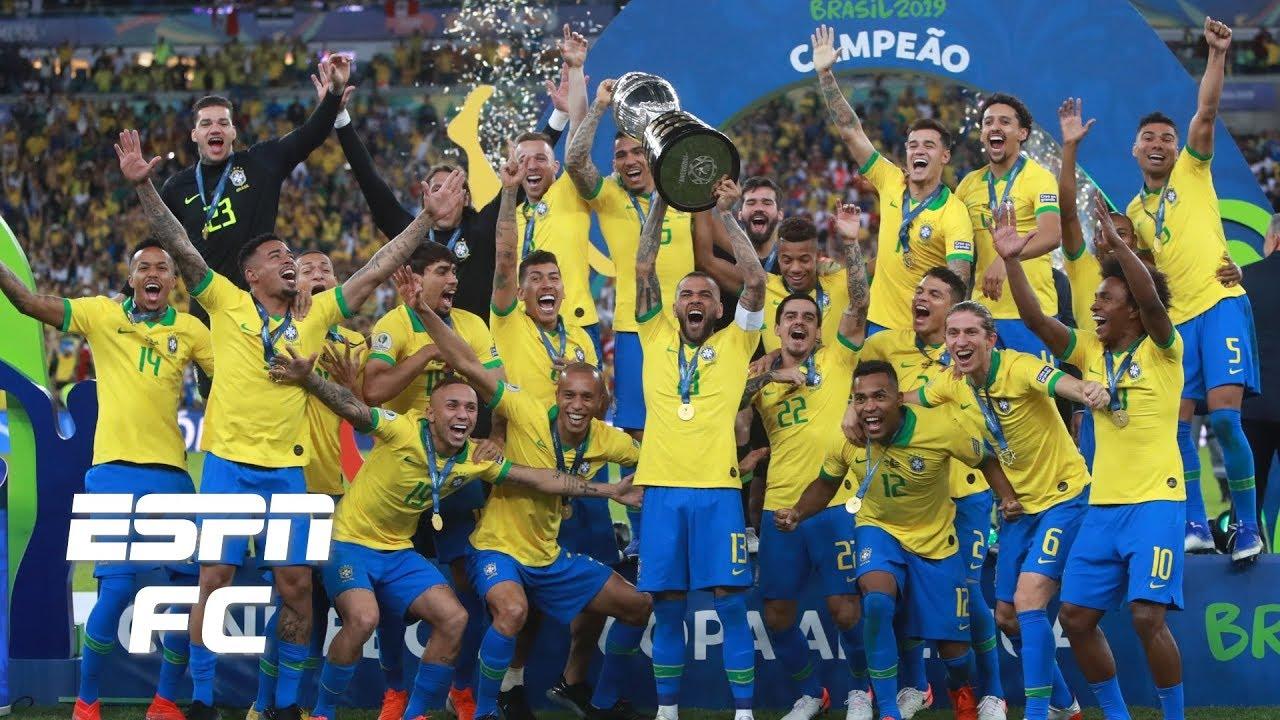 Brazil Vs Peru Analysis Selecao Crowned Champions Despite Neymar S Absence Copa America Youtube