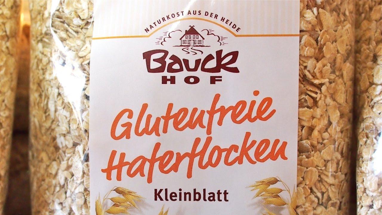 glutenfreies getreide glutenfreie haferflocken von bauckhof vegan youtube. Black Bedroom Furniture Sets. Home Design Ideas