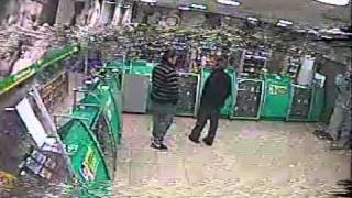 asalto a farmacia cruz verde de el dia 24-08-2011 parte 1