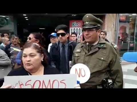 José Miguel Insulza enfrenta a sus detractores en Arica