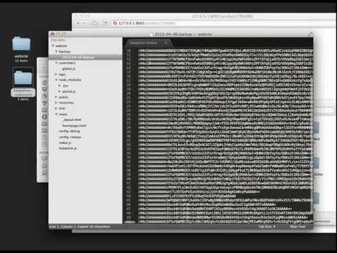 partial.js / web application framework for node.js