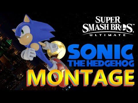 SONIC MONTAGE - Super Smash Bros Ultimate thumbnail