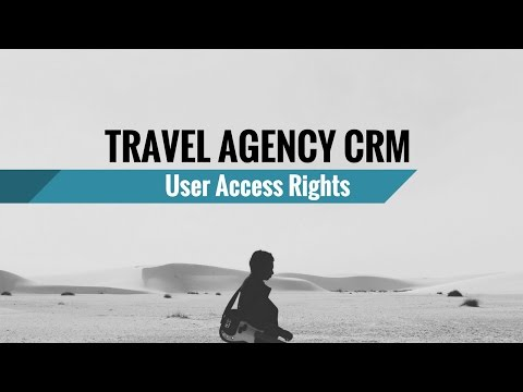 [HD] Travel Agency CRM: User Access Rights