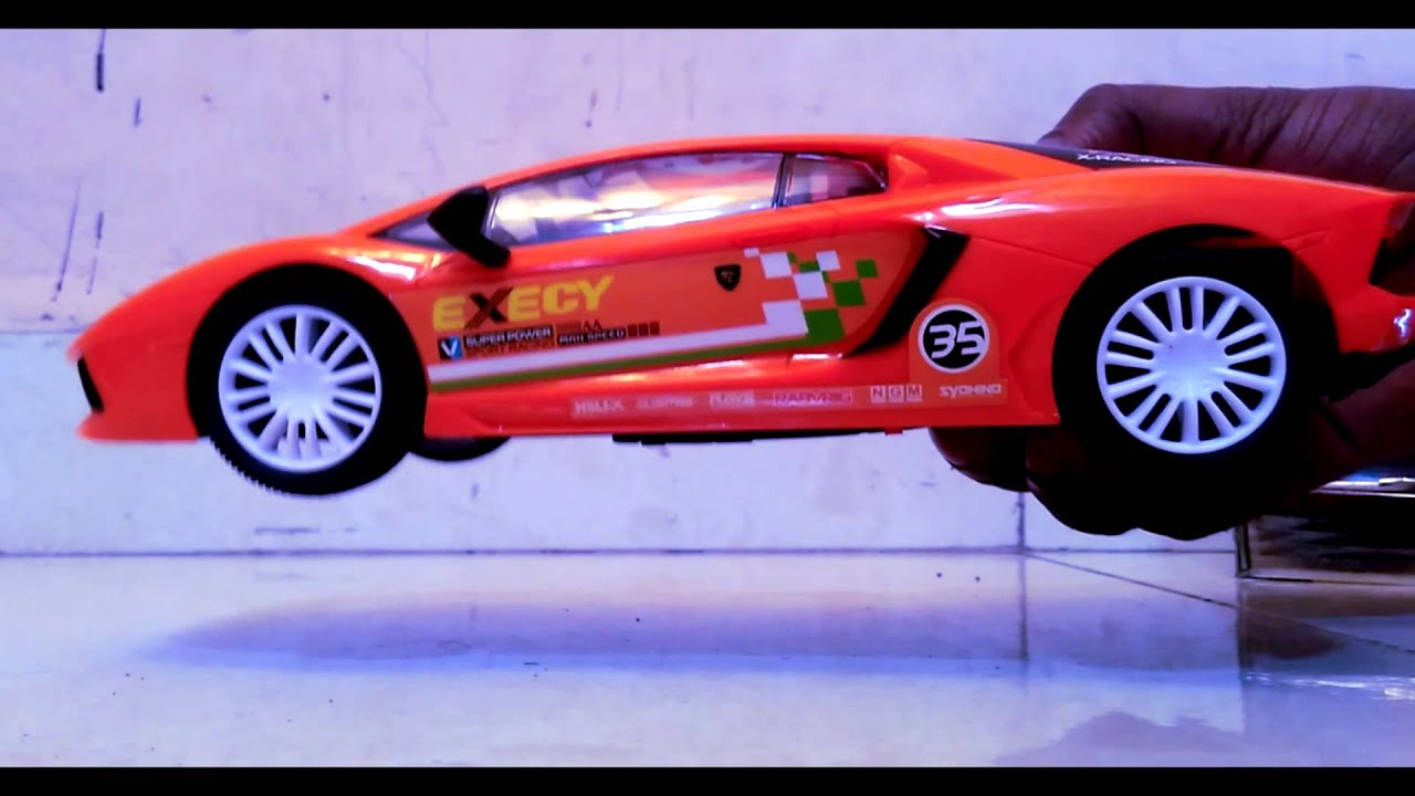 toy car kids lamborghini remote control ride on toy car unboxing youtube