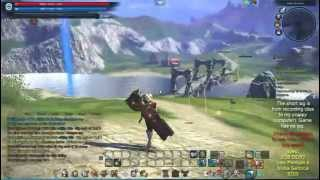 Playing TERA high setting on a crappy computer!