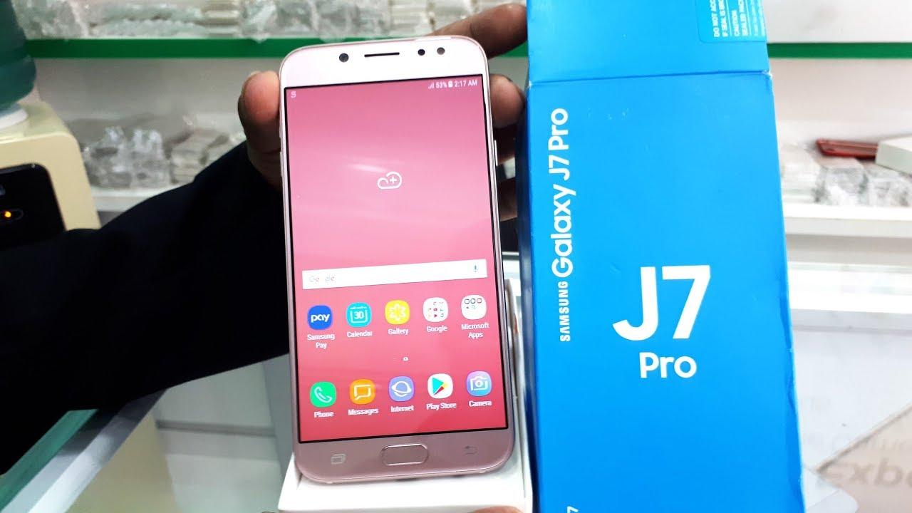 Pink Samsung Pro Galaxy J7